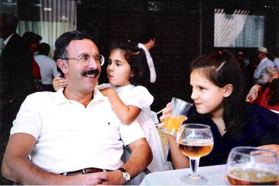 Con mi padre y mi hermana en Segovia© Alessia Calderalo García